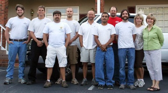 home remodeling team